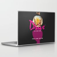 video game Laptop & iPad Skins featuring Drive Video Game by Simon Alenius