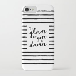 Too Glam | by Kukka iPhone Case
