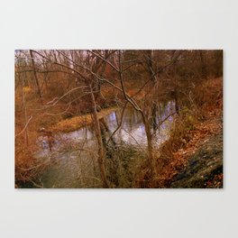 Slaughter Road 1 Canvas Print