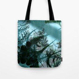 Fruitful Abstract Fractal Art Tote Bag