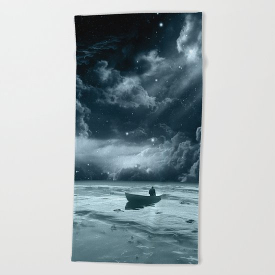 Without a Paddle Beach Towel