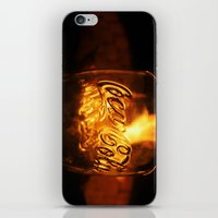 coca cola iPhone & iPod Skins featuring Coca Cola by CharlieRae