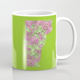 Vermont in Flowers Coffee Mug