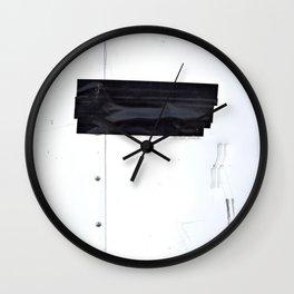Black Tape Wall Clock