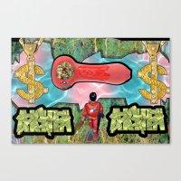 akira Canvas Prints featuring AKIRA by The Bad Boy Club