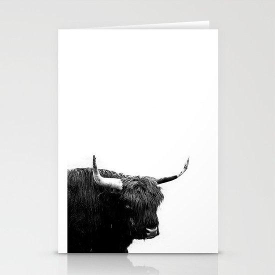 Lumbering Beast II  Stationery Cards