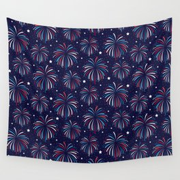 Star Spangled Night Wall Tapestry