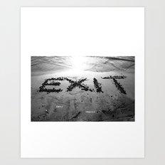 Exit Loss Art Print