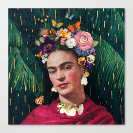Frida Kahlo :: World Women's Day Canvas Print