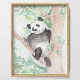 Panda, Hanging Out Serving Tray