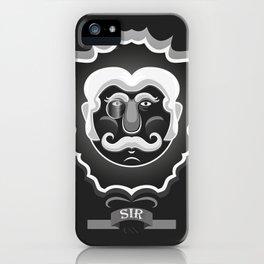 Sir iPhone Case