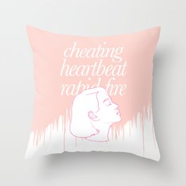 She's Thunderstorms Throw Pillow
