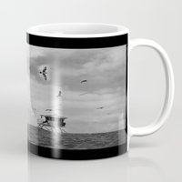flight Mugs featuring FLIGHT by sincerelykarissa