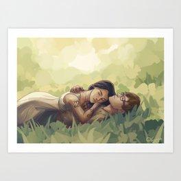 Sizzy Art Print