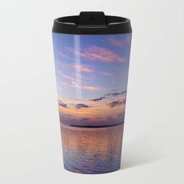 Lavender Gold Light Travel Mug