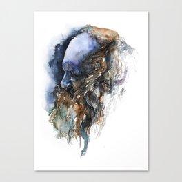 FACE#10 Canvas Print