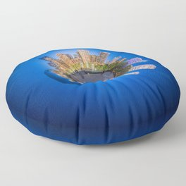Millennium Park, Chicago, Illinois Floor Pillow