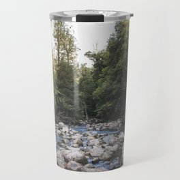 a waterfalls view Travel Mug