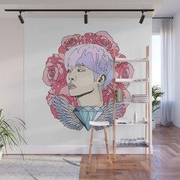 Roses for Jonghyun. Wall Mural