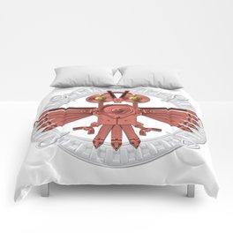 Red Owl Talisman Comforters