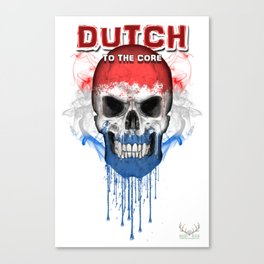 To The Core Collection: Netherlands Canvas Print