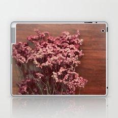 Vintage Purple Flowers Laptop & iPad Skin