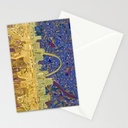 st louis city skyline Stationery Cards