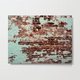 Half Naked Bricks Metal Print