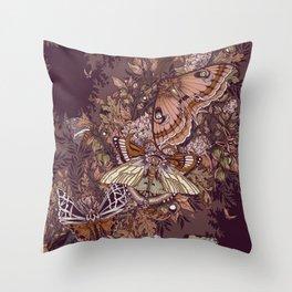 Transarctiinae Throw Pillow