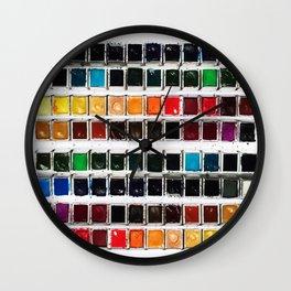 Paintbox Set Wall Clock
