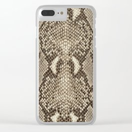 Snakeskin Clear iPhone Case