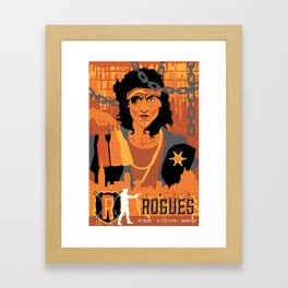 THE WARRIORS :: THE ROGUES Framed Art Print