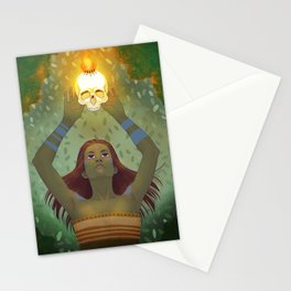 Crown of Fire Stationery Cards