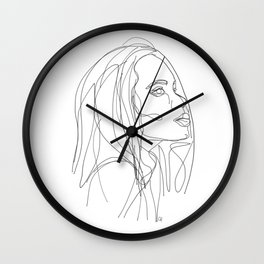 Woman Wall Clock