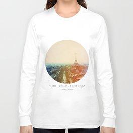 Iron Lady Long Sleeve T-shirt
