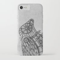 clockwork iPhone & iPod Cases featuring Clockwork Bird  by Terry Fan