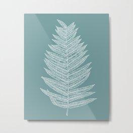 Modern Minimalist Botanical Metal Print