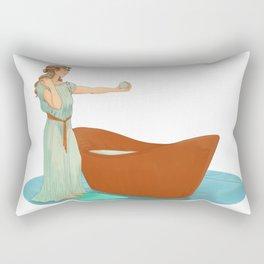 The Bath Bomb Rectangular Pillow