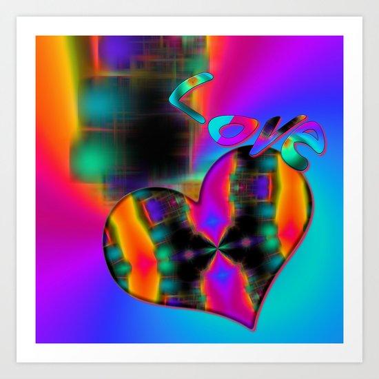 Love in Color Art Print
