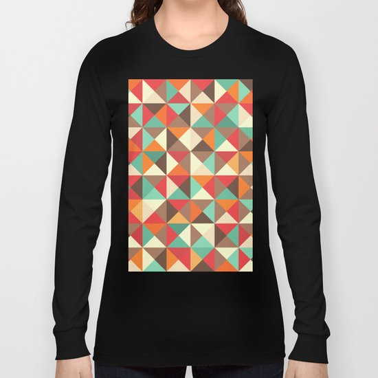 Triangle landscape Long Sleeve T-shirt