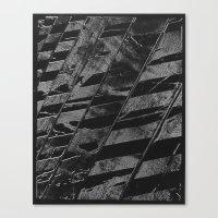 labyrinth Canvas Prints featuring Labyrinth by Tom Sebert