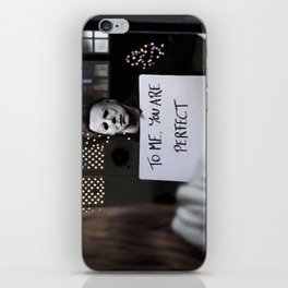 Michael Myers in Love Actually iPhone Skin