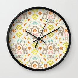 medallion folklore Wall Clock