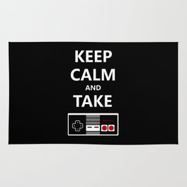 Keep Calm and Take Control Rug