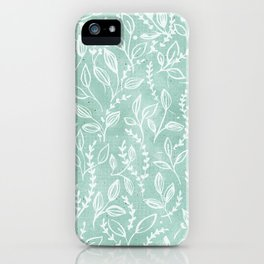 Add Spice to your Life: herb toss iPhone Case