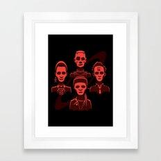 Petit Rouge Rhapsody Framed Art Print