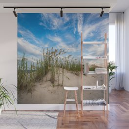 Sand Dunes and Sea Oats - Coastal Beach Scenery in South Carolina Wall Mural