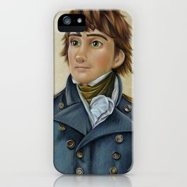 Hiccup Historical Portrait. iPhone Case