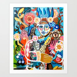 High Spirited Art Print