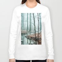 landscape Long Sleeve T-shirts featuring Gather up Your Dreams by Olivia Joy StClaire
